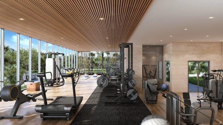 Sage Longboat Key Renderings - Fitness Center
