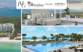 pmg, floridays, premier sotheby's logos and sage photos